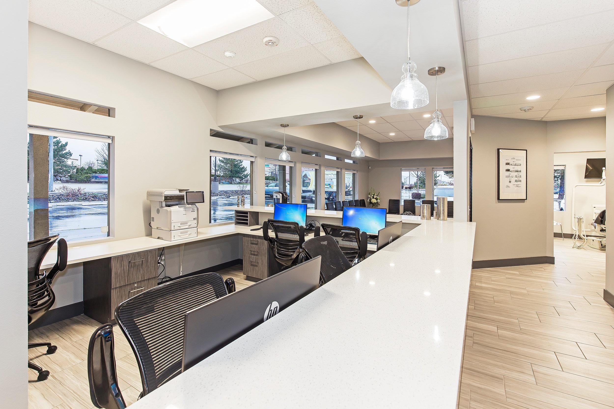 Absolute Dental Front Desk
