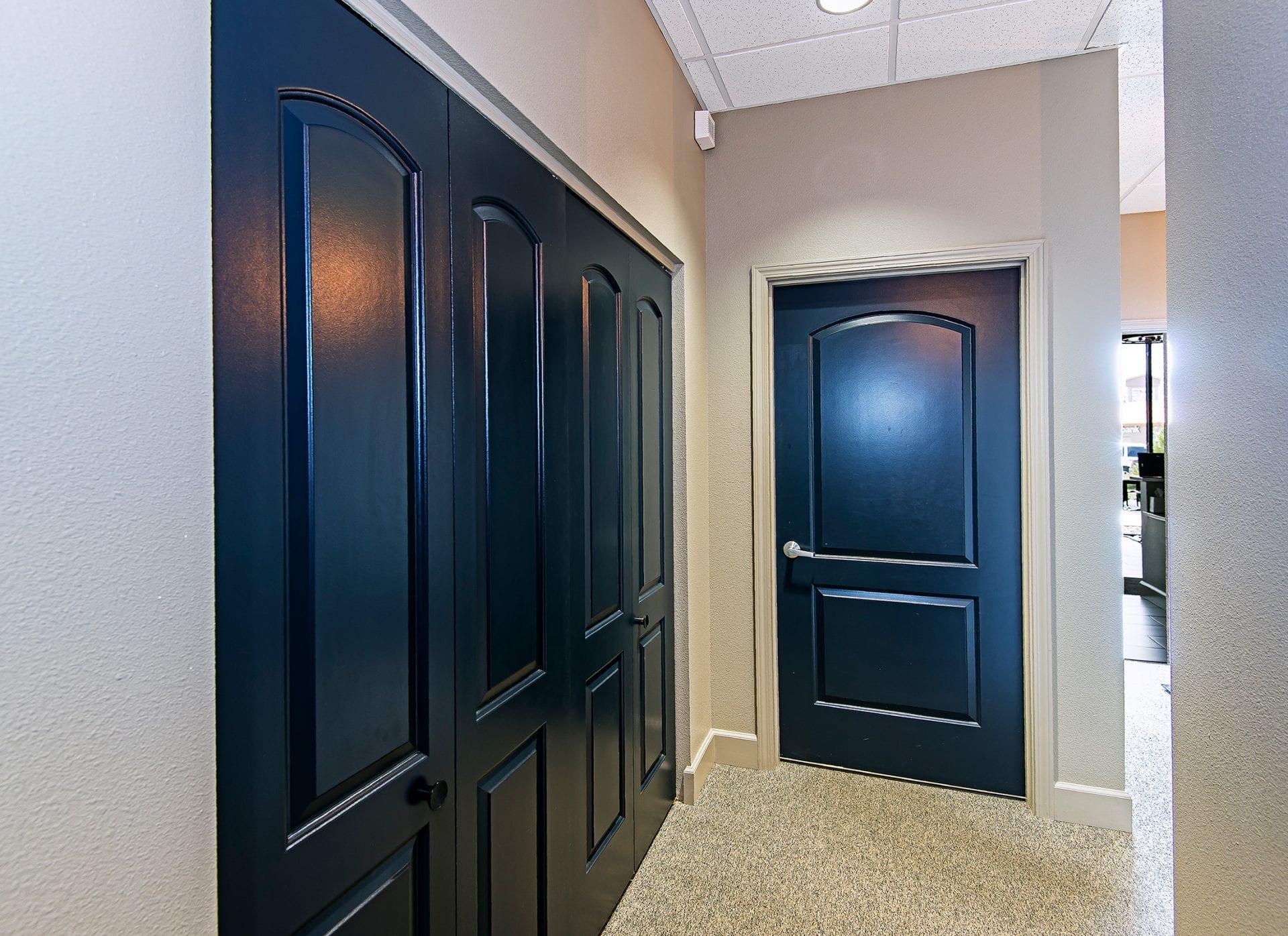 Pritchett Eye Care Door way