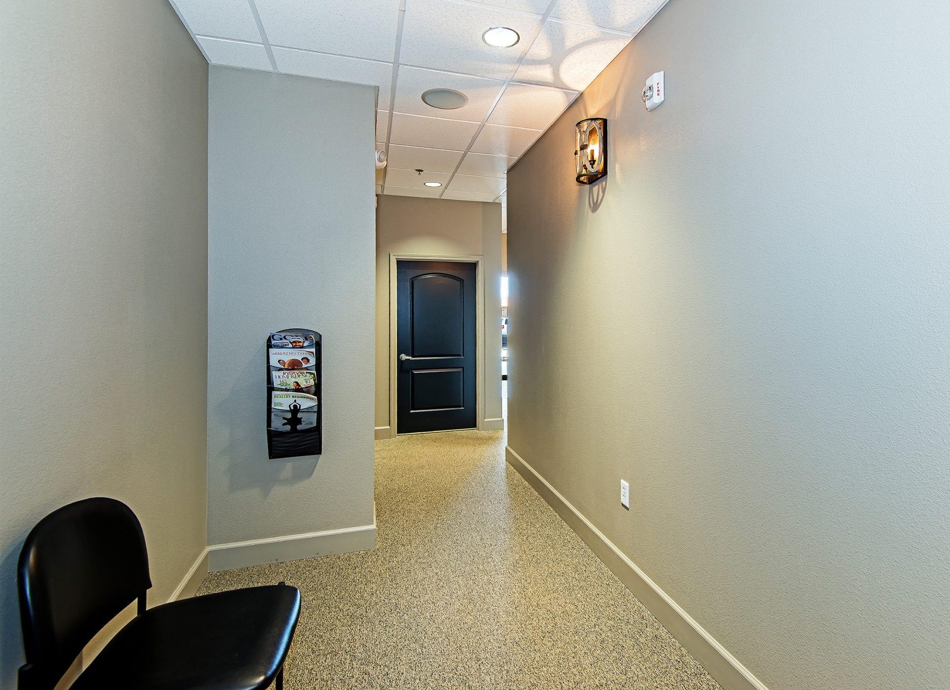 Pritchett Eye Care Hallway