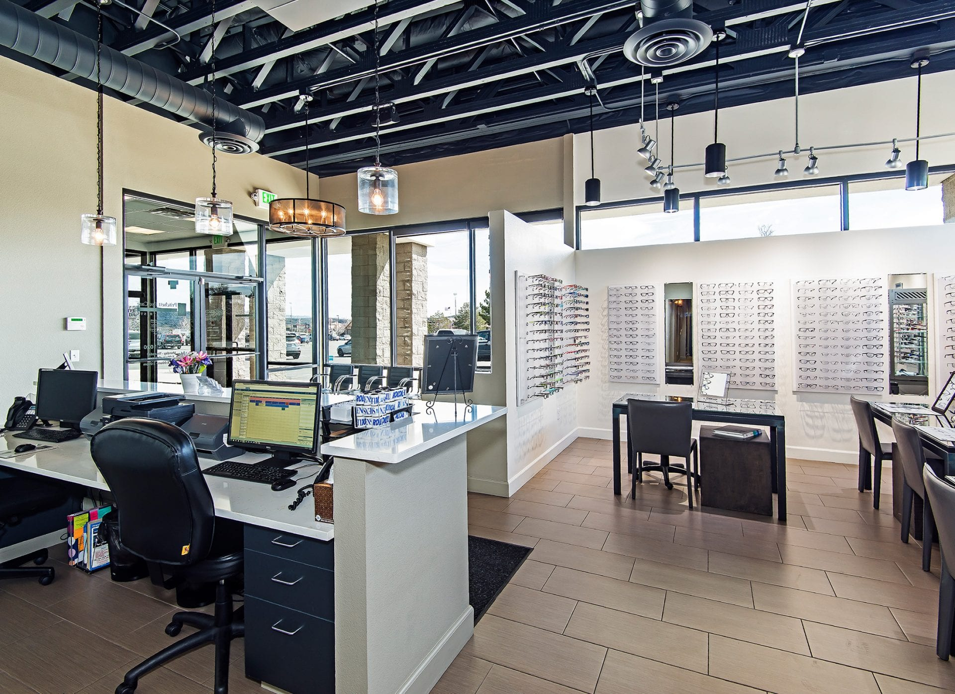 Pritchett Eye Care Front Office